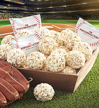 Popcorn Factory Summer Baseball Snack