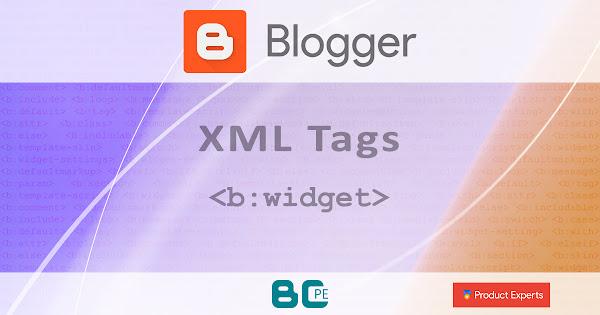 Blogger - La balise de gadget <b:widget>