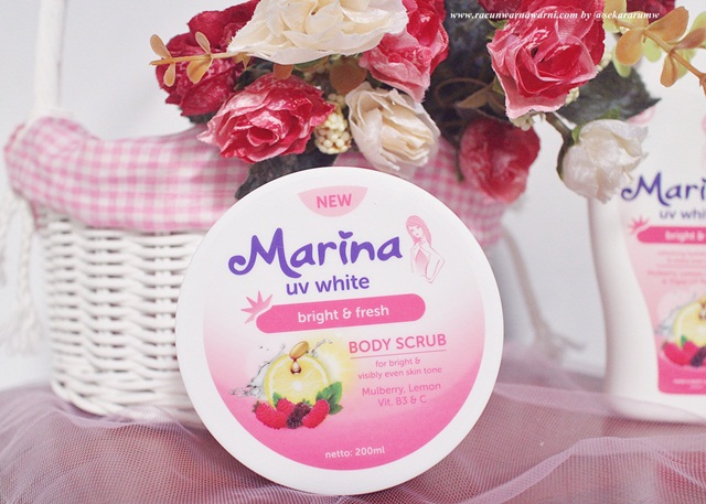 body scrub marina uv white mulbery