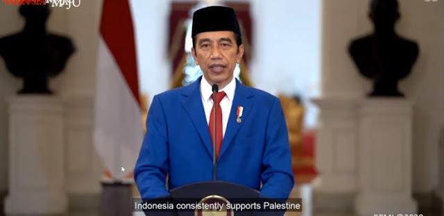 Pidato Sidang PBB, Jokowi: Indonesia Konsisten Mendukung Kemerdekaan Palestina