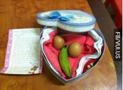 Món quà sinh nhật đáp ứng đủ 4 tiêu chí: Ngon Bổ Rẻ Độc - 2 Trứng 1 Chuối
