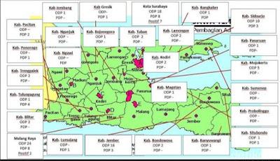 BREAKING NEWS: Update  Ini Peta Persebaran Virus Corona di Jawa Timur