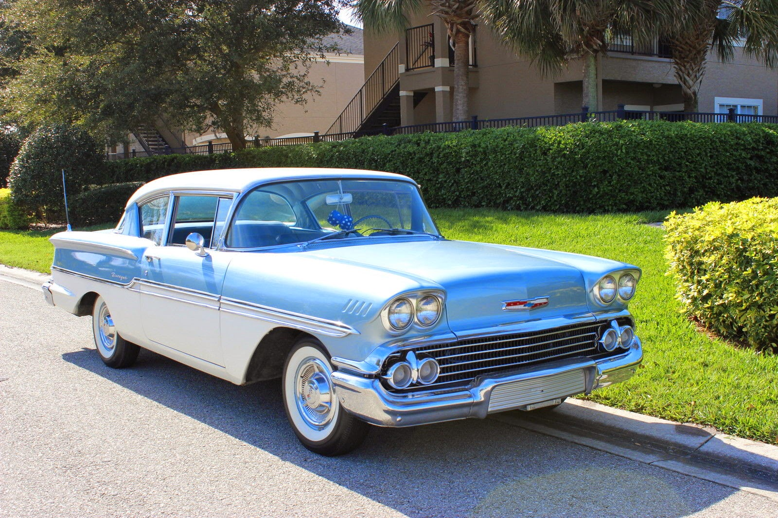 All Chevy 1960 chevrolet biscayne 2 door : All American Classic Cars: 1958 Chevrolet Biscayne 2-Door Sedan