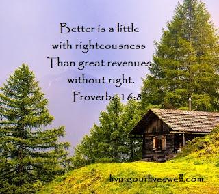 Proverbs 16:8