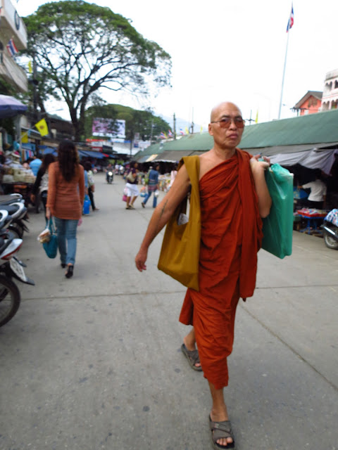 Cool monk in Thailand