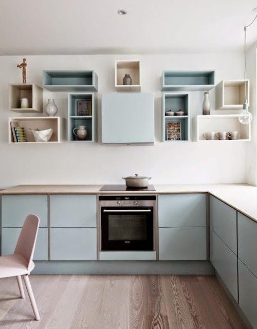 Pastel Kitchen Cabinet Color Palette