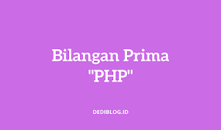 Bilangan Prima PHP