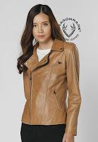 áo khoác da nữ Hàn Quốc