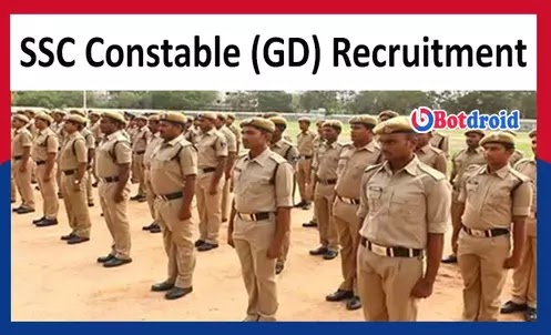 SSC GD Constable Recruitment 2021 Apply Online for SSC Constable Vacancies