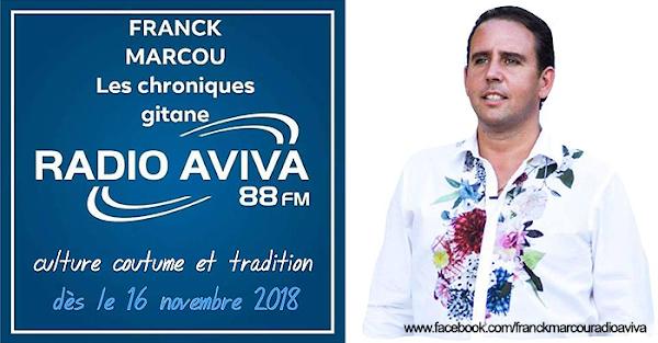 Franck Marcou Radio AVIVA