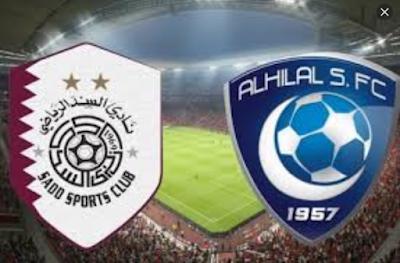 نتيجة واهداف مباراة الهلال والسد 22-10-2019 نصف نهائي ابطال اسيا