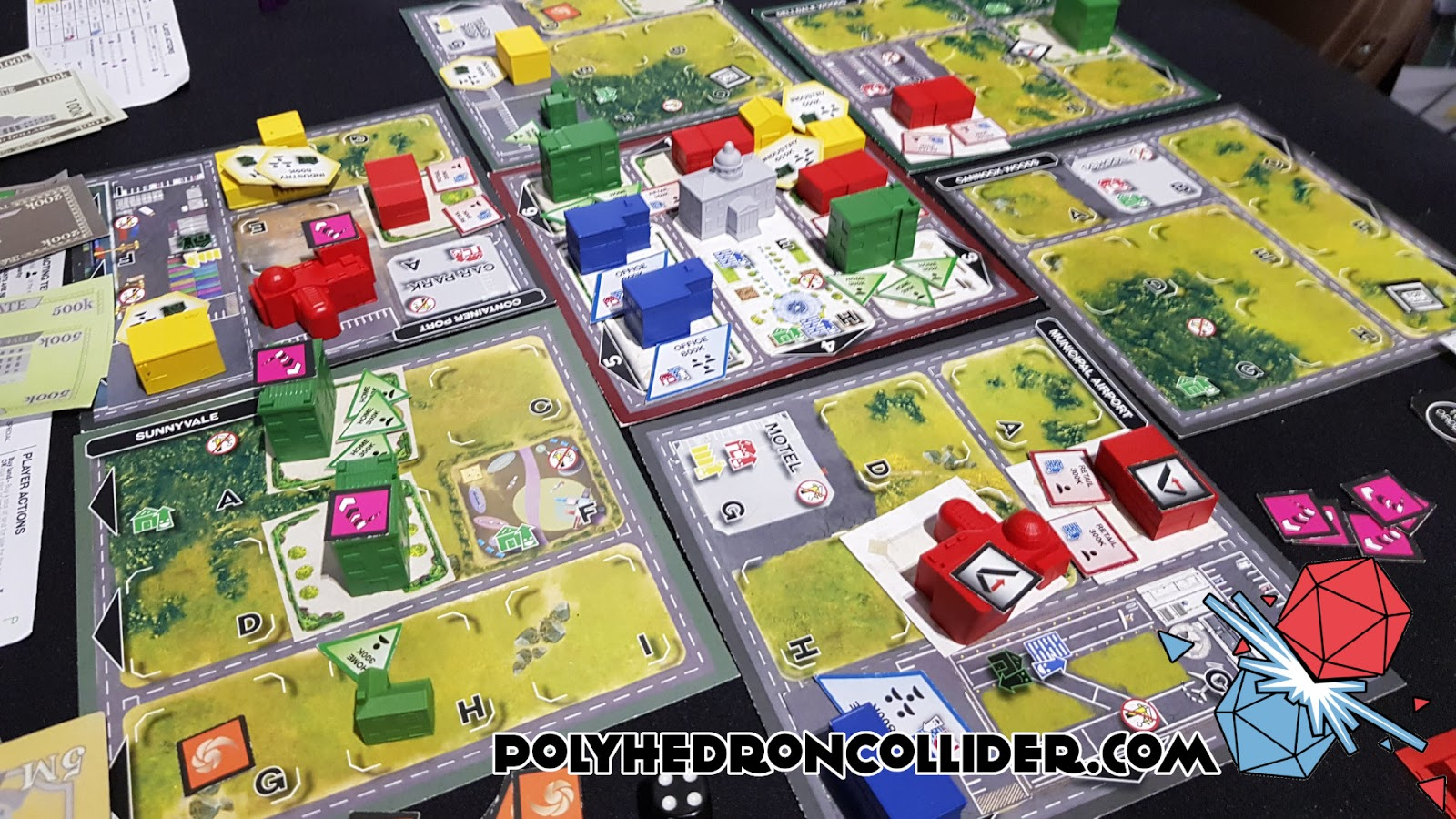 Kickstarter Highlight Magnate The First City Building Game