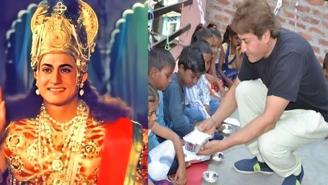 'कृष्ण' बन इस एक्टर ने किया करोड़ों दिलों पर राज, अब टीवी से दूर गरीबों के लिए कर रहा ये काम