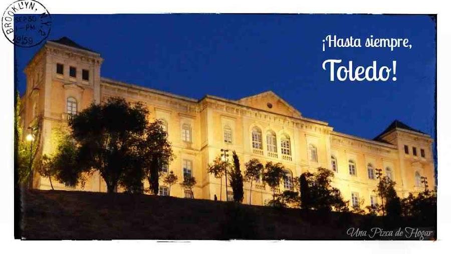 Postal-Toledo-Atardecer