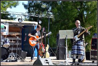 BogZH Celtic Cats ! Concert Campbon Loire Atlantique - Virades de l'Espoir - Gilles et Gwenolé guitare et basse