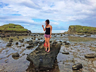 Biri island rock formations, little pinay explorer, cute pinay, ph destinations, amazing ph