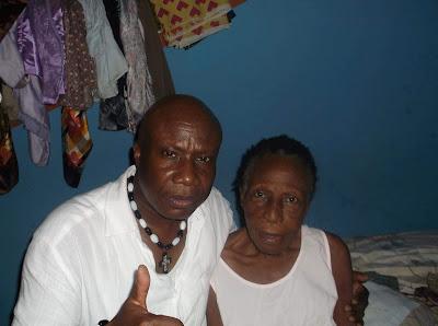 Singer Mike Okri has lost his mum. Mrs Mary Onojighodame Okri