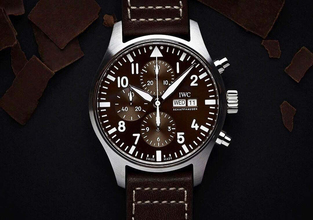 6a7b8612df81 The first model is the Pilot s Watch Chronograph Edition