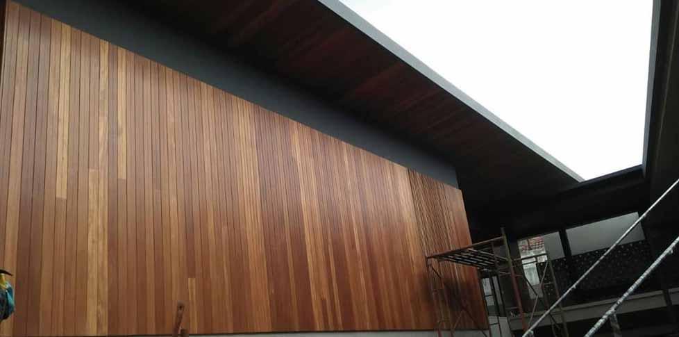 parquet dinding