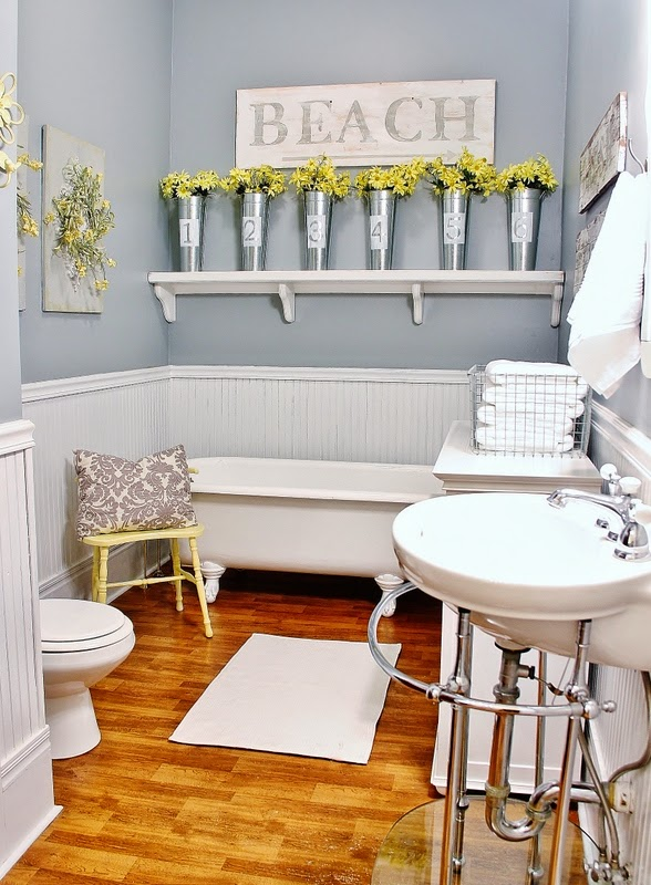 Farmhouse Style Bathroom Design. design for small spaces bedroom ...