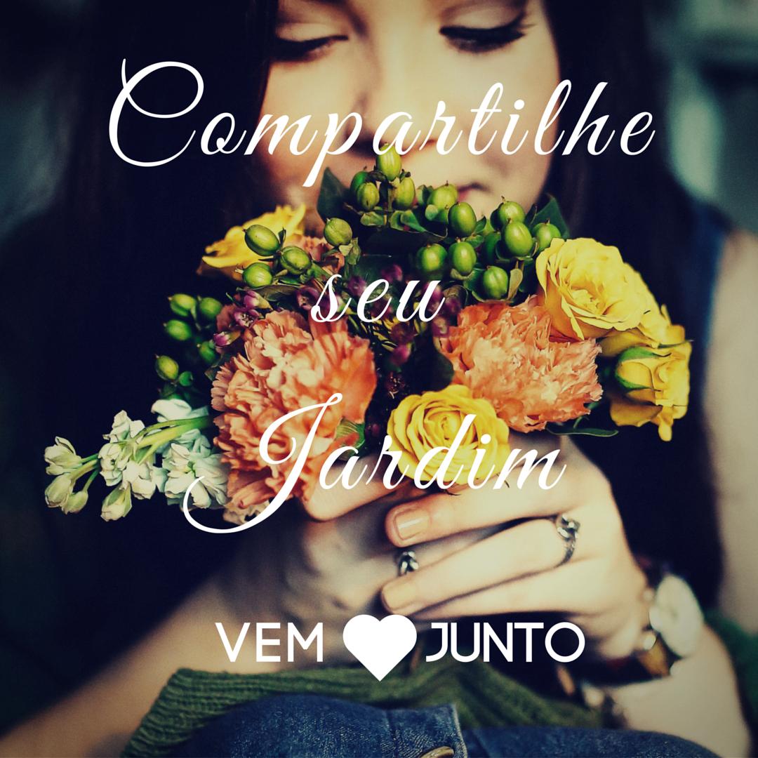 compartilhe seu jardim