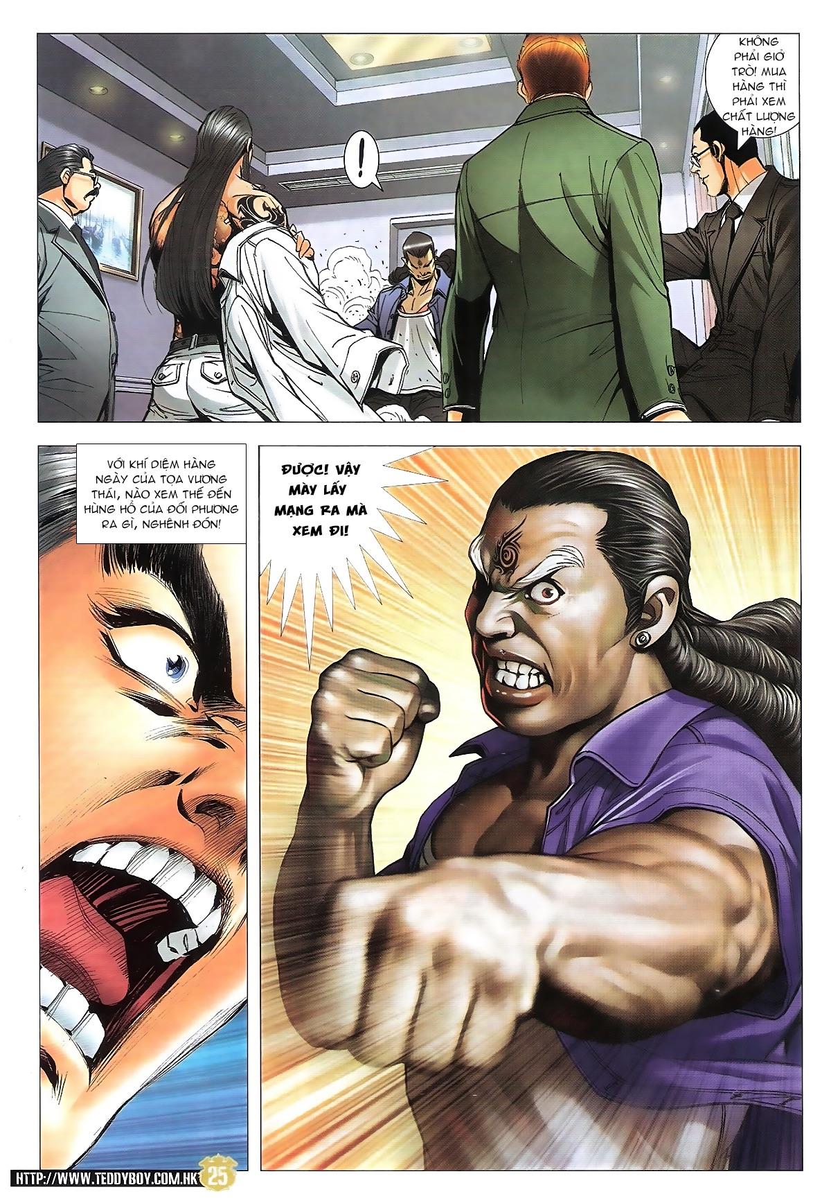 Người Trong Giang Hồ chapter 1822: tẩy của tiểu đông trang 24