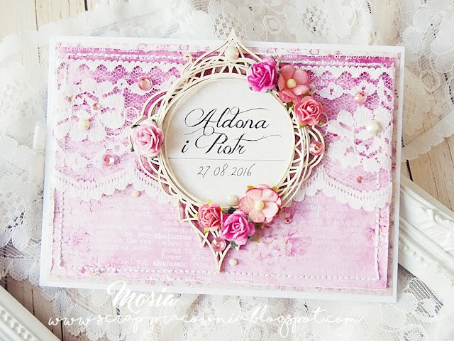 Ślubny róż. / Wedding pink.