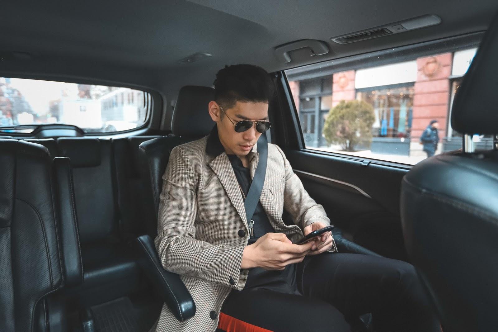 Getting Around NYFW with Uber