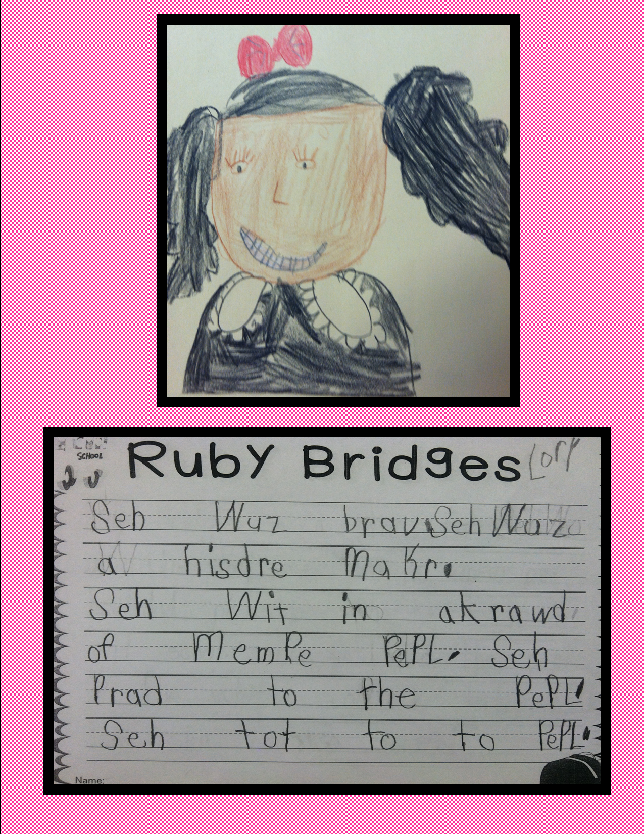 Ruby Bridges Famous Quotes Quotesgram