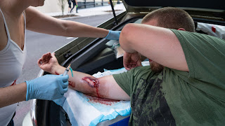 Cop Violence against peaceful protesters