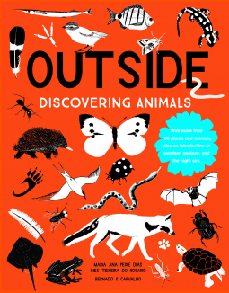 If you're looking for a fun read that will make your kids want to get outside this summer, then check out Outside: Discovering Animals. The book walks kids through all of the clues they can look for (like feathers, footprints, tracks, chewed on pine cones, etc.) to find all sorts of animals whether you live in a city or in the country! #OutsideDiscoveringAnimals #NetGalley #Animals #ChildrensLit