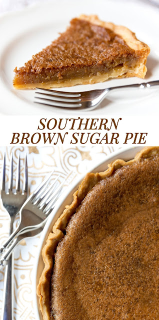 SOUTHERN BROWN SUGAR PIE  INGREDIENTS