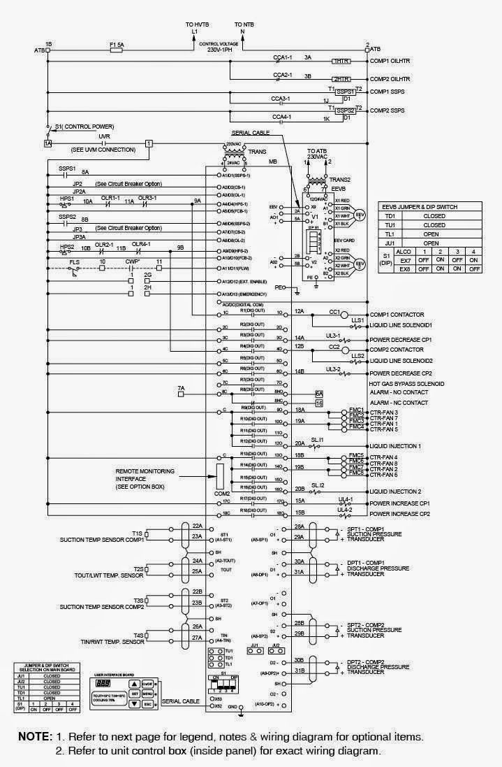 Wiring Diagram For Carrier Chillers
