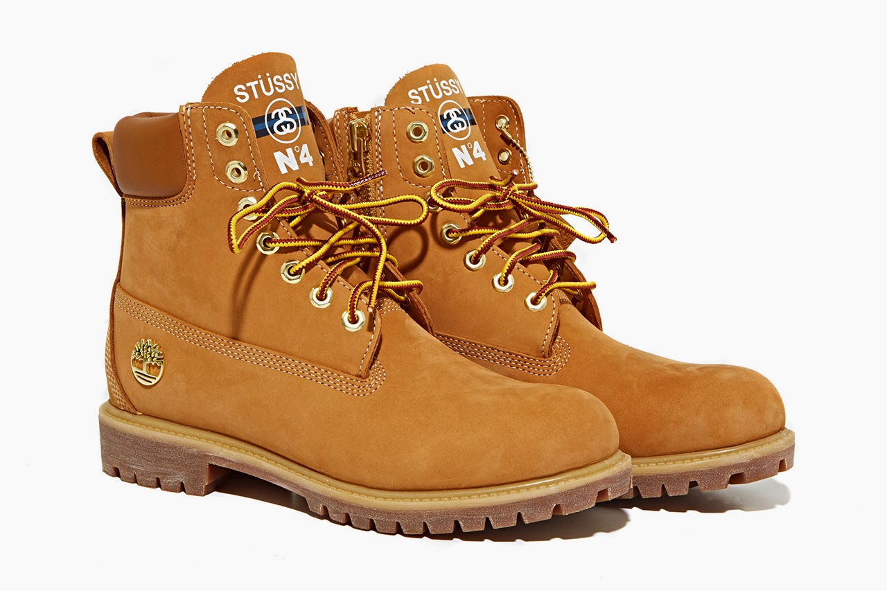 Stussy x Timberland dropped these 6