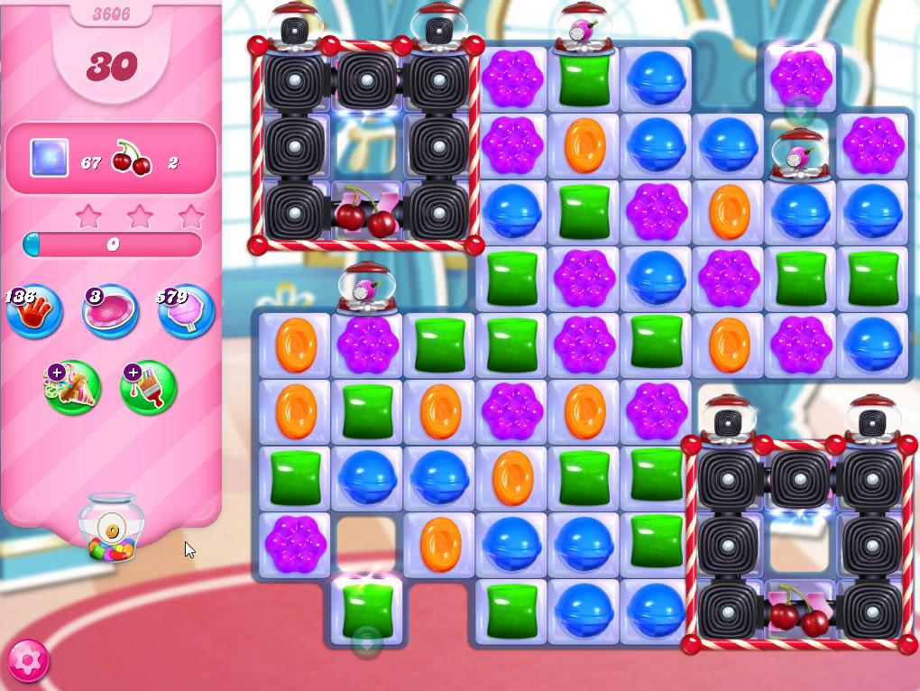 Candy Crush Saga level 3606