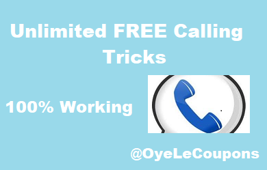 Unlimited Free Calling Tricks