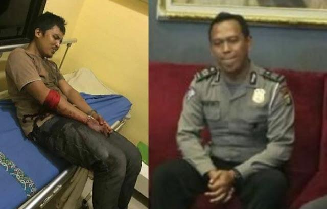 "Kisah Polisi Aiptu Sunartyanto Menggagalkan Sandera Dalam Angkot, Sunartyanto Mengucapkan Kalimat Suci dan ""DOR"""