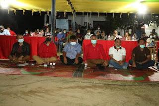 Nginap di Dusun Batu Mamak Garoga, Bupati Taput Melihat dan Mendengar Apa yang Dirasakan Masyarakat