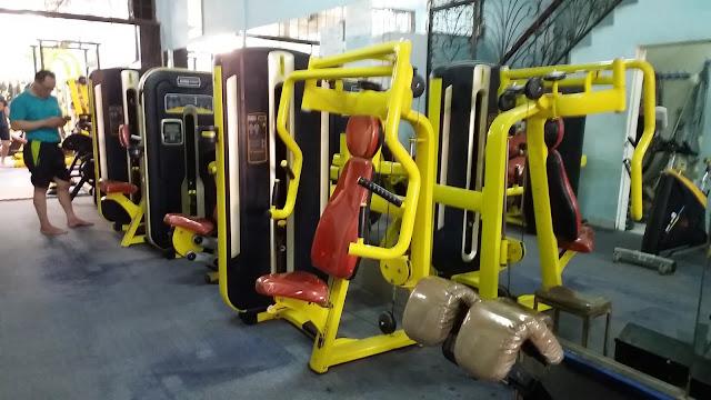 alat alat fitness di Agi Gym Tempat Fitness dan Gym Di Kota Medan