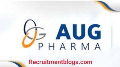 Medical Representative At AUG Pharma