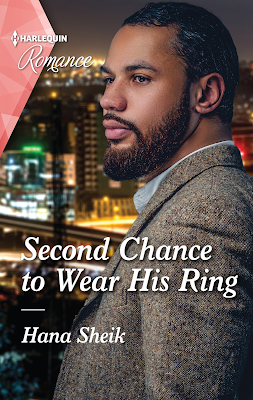 Second Chance to Wear His Ring by Hana Sheik Mills & Boon Harlequin romance book cover