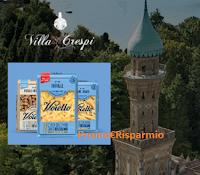 Logo Concorso ''Voiello Esselunga 2019'': vinci soggiorni a Villa Crespi