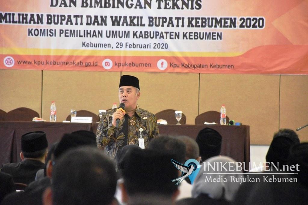 130 PPK Resmi Dilantik, Ketua KPU Kebumen Ingatkan Soal Integritas