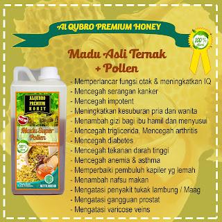 Jual Madu Al Qubro Pollen, Produsen Madu Al Qubro Premium Pollen