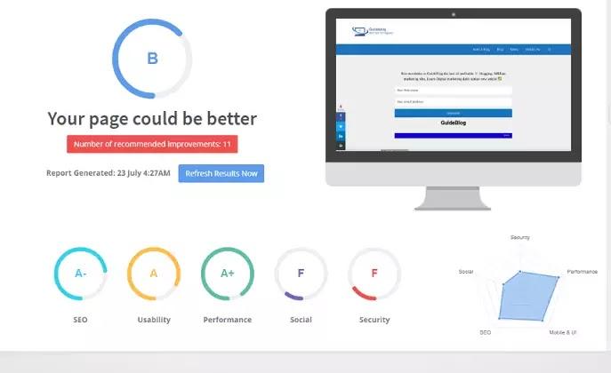 Seo Site audit Tools