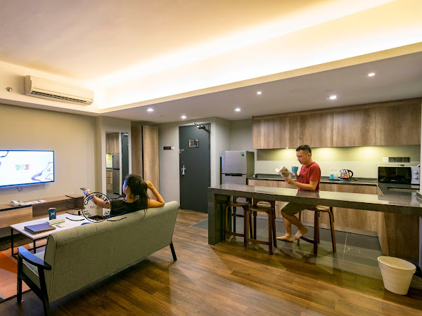 Tropic Eight Suites - A Different Type of Hotel with Kitchen Facilities in Penang