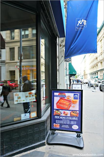 Fachada del Restaurante Japonés Ootoya Chelsea en Nueva York
