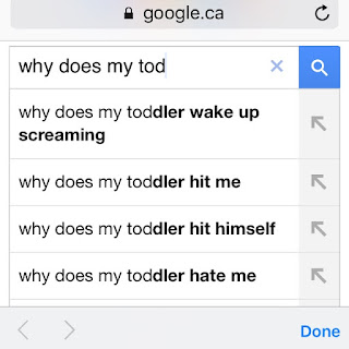 why does my toddler