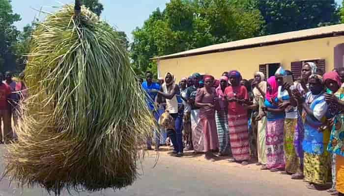 Misteri Tarian Kumpo Afrika