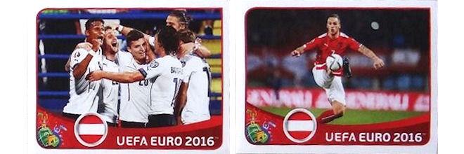 Extra Poster Sticker A16 Österreich Edition Panini EM Euro 2016 Sport Sammelsticker & Alben Sammelbilder & Sammelsticker
